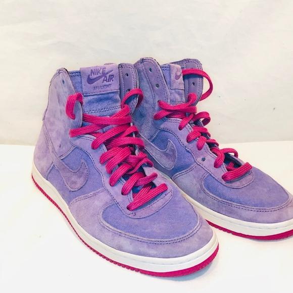 Nike Air Force Light Hi Decons Purple